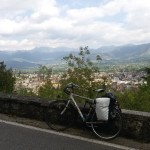 la salita per Montecassino