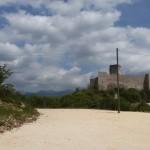 Fortezza lungo la salita per Montecassino