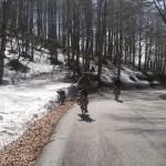 Neve di maggio a Forca d'Acero