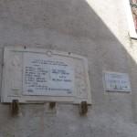 Civitella Alfedena - targa per i caduti