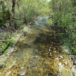 Il corso del fiume Sangro