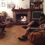 svacco a casa di Emiliano a Gallinaro