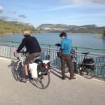 Ponte sul lago di Barrea