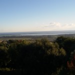 Lo stagno di Biguglia visto dall'alto