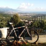Bastia in lontananza