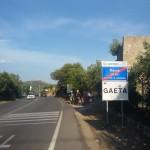 L'arrivo a Gaeta