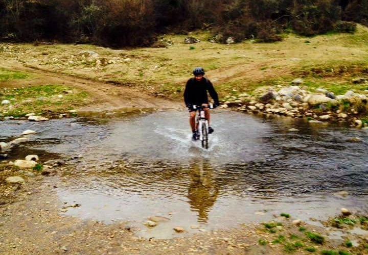 Il guado del fiume Mignone