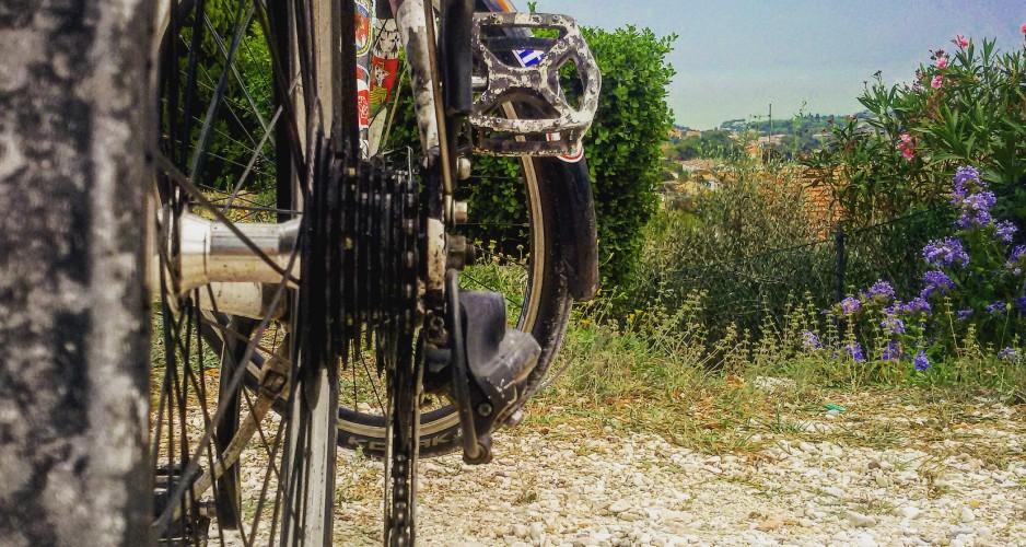 Risultati immagini per ciclista si abbevera fontana