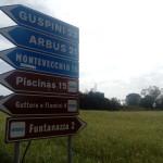 La strada per Piscinas