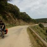 La strada tra Piscinas e Ingurtosu