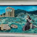 murales a Fluminimaggiore